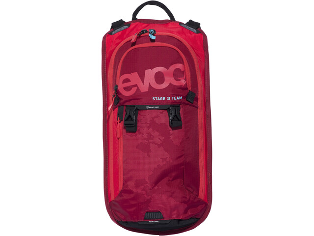 EVOC Stage Team Rygsæk 3 L + Hydration Bladder 2 L rød (2019) | Travel bags